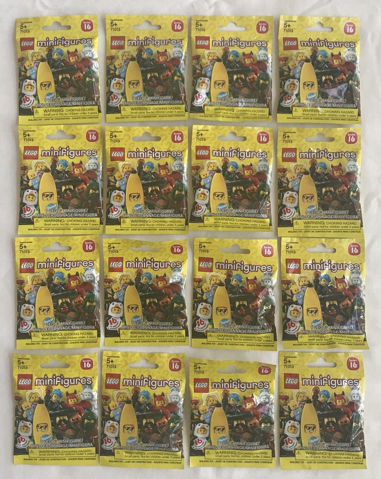 LEGO MINIFIGURES MINIFIGURES MINIFIGURES (71013) - Series 16 -COMPLETE SET of 16 Figures - New & SEALED  c418c1