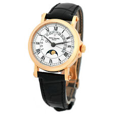 PATEK PHILIPPE 18K Rose Gold Perpetual Calendar Retrograde Moonphase 5059 R