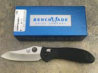 Benchmade Griptilian Knife 550hg Axis Pardue Design Hollow Ground Sheepsfoot
