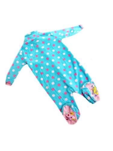 EX Dunnes Bambine Aqua AMICI ANIMALI dormire Tutto In Uno Pj /'s età 2-3 anni di vendita