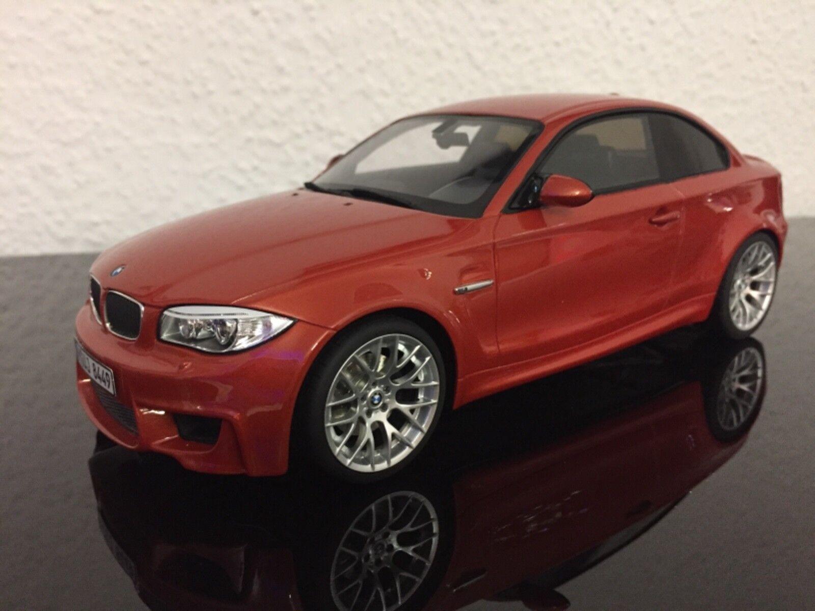 BMW 1er M 1M E82 Valencia orange GT anda GT018 1 18