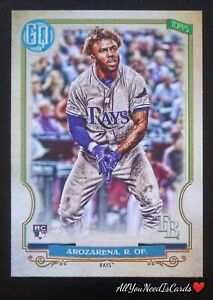 Randy Arozarena 2020 Topps Gypsy Queen Baseball RC#68 Tampa Bay Rays Rookie Card