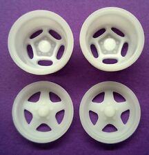 Resin 1/25 Motor Wheel Flys & Spyders Drag Wheel Set