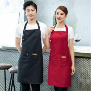 Cooking-Kitchen-Apron-For-Women-Men-Chef-Waiter-Cafe-shop-BBQ-Hairdresser-Bibs-s