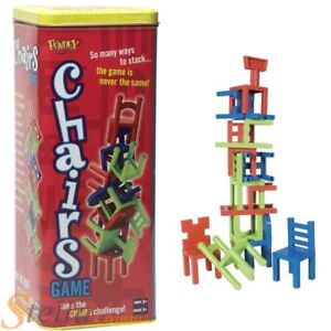Image Is Loading Paul Lamond Chairs Game Tower Topple Chair Stacking