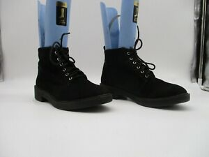 Divided H \u0026 M Black Lace Up Ankle Boot