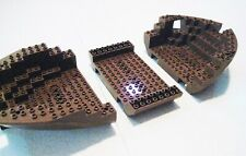 Lego Vintage Pirate Brown Boat Hull Large Stern 2559c03 Barracuda Clipper