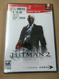 Hitman 2 Silent Assassin Brand New Factory Sealed Ps2 Playstation