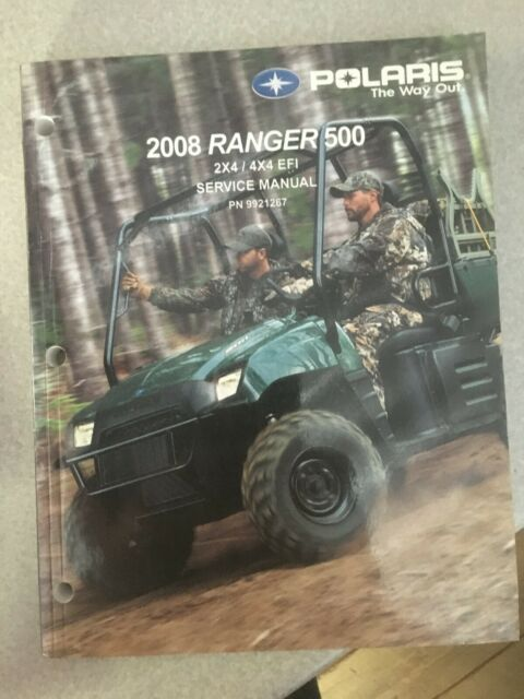 2008 08 Polaris Ranger 500 2x4 4x4 Efi Oem Service Manual