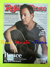 ROLLING STONE USA MAGAZINE 1153/2012 Springsteen Ringo Starr Davy Jones No cd