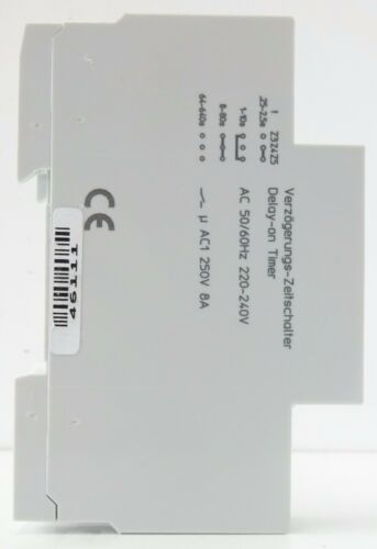 Siemens 5tt3 181 temporisateur minuterie 220-240v ~ 4 plages de temps 1 changeur