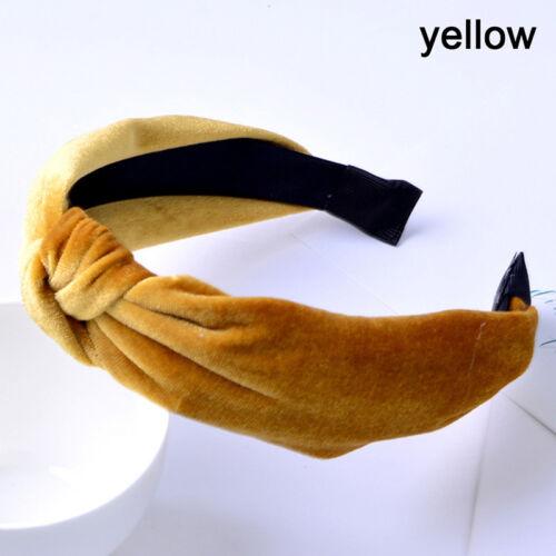 bande de cheveux noeud papillon velo IY Bandeau serre-tête pour femme