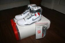 NIKE AIR PRESSURE WHITE CEMENT GREY VARSITY RED UK6/US7/EU40 BNIB 831279-100
