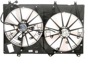 Engine Cooling Fan Assembly Dorman 620-299 fits 09-13 Toyota Highlander 2.7L-L4