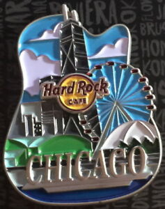 Hard-Rock-Cafe-CHICAGO-2017-Core-City-ICONS-Series-PIN-New-on-CARD-HRC-95482