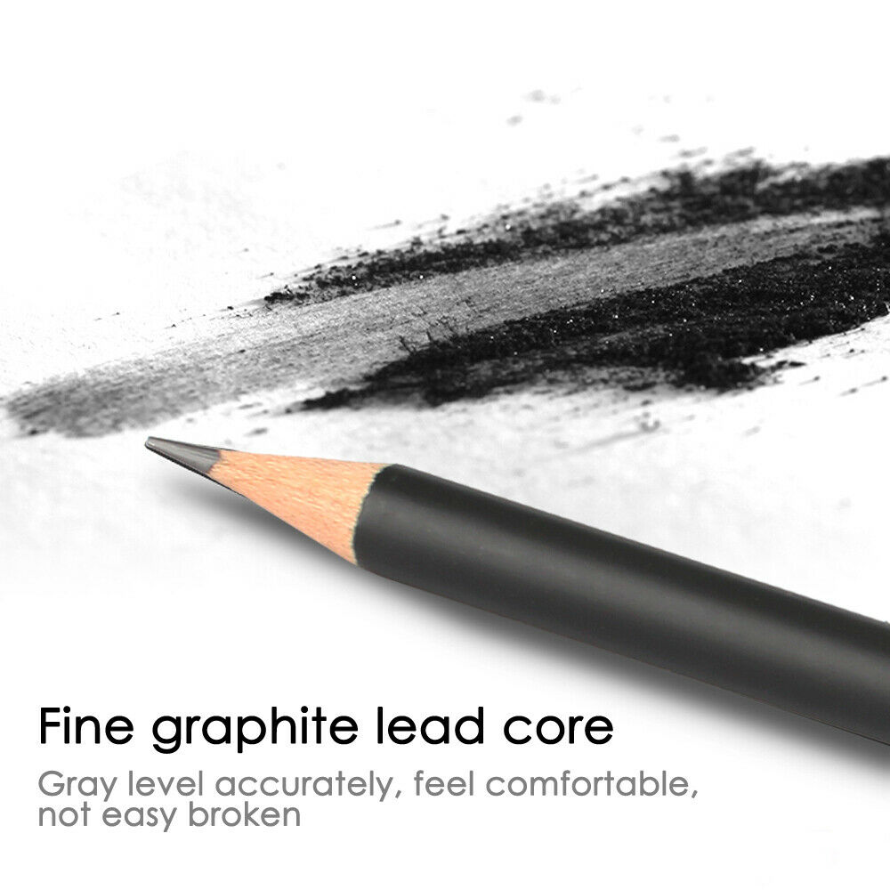 Y-QUARTER 36Pcs Funny Graphite Pencil Sketching Drawing Writing HB//2B Stationery School Office Supplies Student Christmas Birthday Gifts