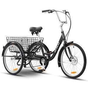 REFURBISHED-Unico-Liberty-24-034-Trike-Black-Assembled