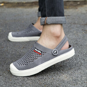 Men-039-s-Water-Shoes-Beach-Sandals-Summer-Outdoor-Breathable-Slippers-Clogs-Shoes