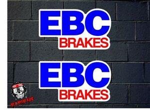 Pegatina Sticker Autocollant Adesivi Aufkleber Decal 2x Ebc Brakes