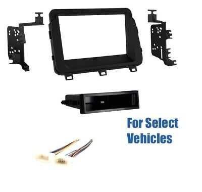 S Din Car Stereo Radio Dash Wire Kit Combo for 2014 2015 ...