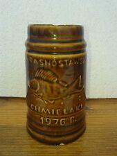 Poland - Kufel do piwa Chmielaki 1976 Krasnystaw  - Ceramic Beer Stein