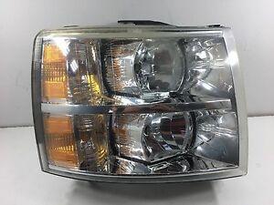 s l300 2007 2013 chevy silverado headlight w wiring harness oem rh
