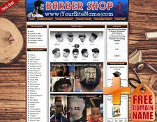 Barber Shop Business Websiteamazon Storegoogledropshipyoutube