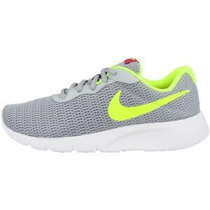 Details zu Nike Tanjun GS Schuhe Sneaker Freizeit Laufschuhe grey volt pink 818381 022