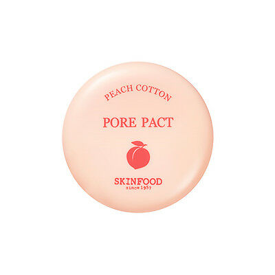 [SKINFOOD]Peach Cotton Pore Pact 9g - Korea Cosmetic