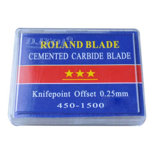 45 Degree Big Roland Vinyl Cutter Blades for Reflective Sheet Cutting 5pcs//pack