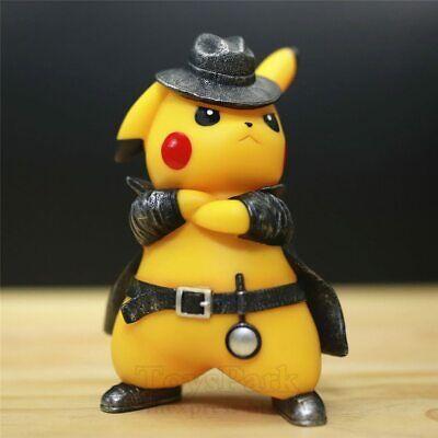 FUNKO POP! Detective Pikachu PVC 17cm Action Figure Go Angry Amiibo Model Toys