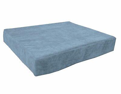 ma11t Fuschia Velvet Style 3D Box Thick Sofa Seat Cushion Cover*Custom Size*