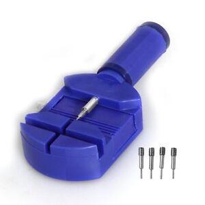 Stiftaustreiber-Uhrenwerkzeug-Uhrmacherwerkzeug-Armbandkuerzer-5-Ersatzstift-DE