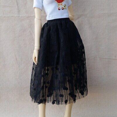"Beige Skirt outfit Dress for 1//4 Female 17/"" 44cm BJD MSD AOD AS VOLKS Doll G/&D"