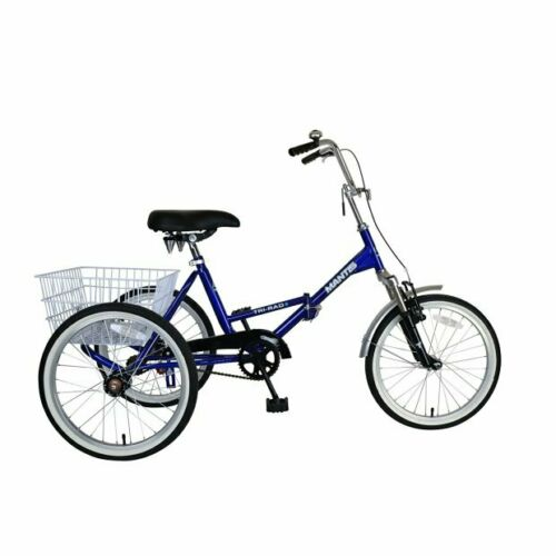 """20//24//26/"""" Adult Tricycle 1//7 Speed 3-Wheel For Shopping W// Installation Tools"""