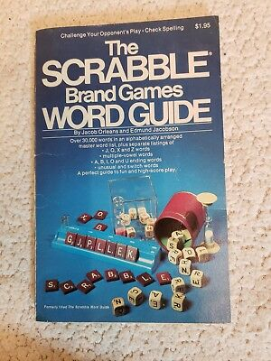 Scrabble Brand Word Guide