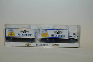 WIKING-56150-Man-Bussing-rimorchio-KULMBACHER-Pils-1-87-NUOVO