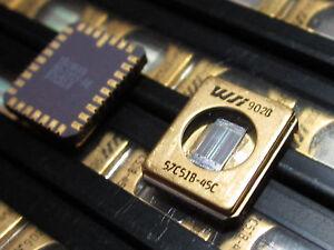 WS57C51B-45C-WSI-HIGH-SPEED-16K-X-8-CMOS-RPROM-MILITARY-TEMP-GOLD-CLCC-1-piece