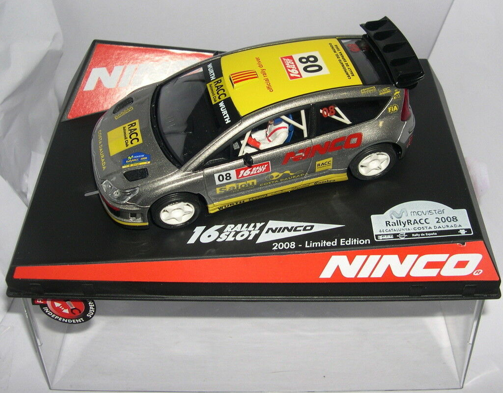 NINCO 50510 CITROEN C4 WRC RALLY CATALUNYA 2008 OF.DRIVERS LIMIT.ED. MB