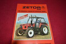 Zetor 5245 Tractor 30 years in Germany Dealer's Brochure LCOH