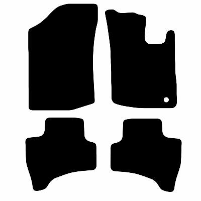 Citroen C1 2014-2019 Tailored Car Floor Mats Fitted Set Black Standard