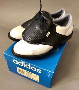 Details about NEW adidas B.L. Saddle aditex Ladies Golf Shoe Size 9.5 Metal Spikes