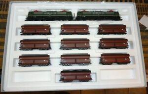 MARKLIN-H0-26593-Pack-Tren-Mercancias-con-Locomotora-Digital-Ep-IV-NUEVO-Rara