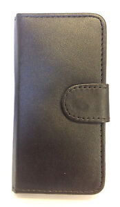 PREMIUM-QUALITY-LEATHER-WALLET-BOOK-COVER-CASE-WITH-CARD-POUCHES-APPLE-MODELS