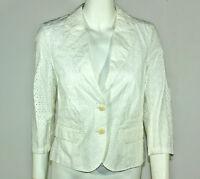 Esprit Vetement Veste Femme Taille 40 Blanche Ref M3