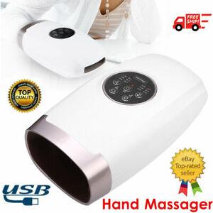 Electric Hand Palm Massager Acupressure Air Pressure Heated Compression Machine