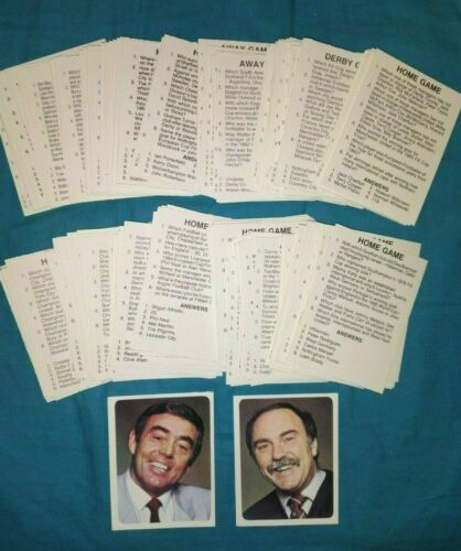200 Question cards  SAINT /& GREAVSIE FOOTBALL QUIZ 1980S 1200 QUESTIONS