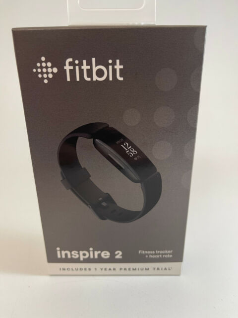 Fitbit Inspire 2 Activity FITNESS Tracker + HEART RATE BLACK NEW