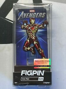 Marvel-Avengers-figpin-Iron-Man-426-Exclusive-Square-Enix-Figur-Pin-offizieller