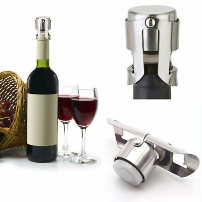 1 Wine Bottle Stopper Reusable Stainless Steel